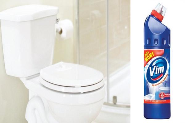 Vim thông tắc vệ sinh: diệt khuẩn, tẩy sạch vết bẩn chỉ trong 5 phút