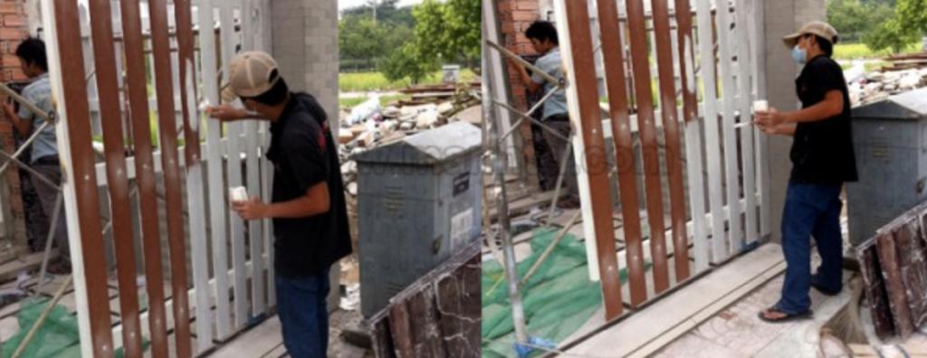 Dịch vụ sơn cổng hàng rào ở Đà Nẵng
