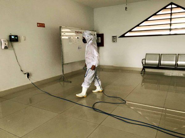 Lắp đặt thiết bị phun khử trùng tại Đà Nẵng