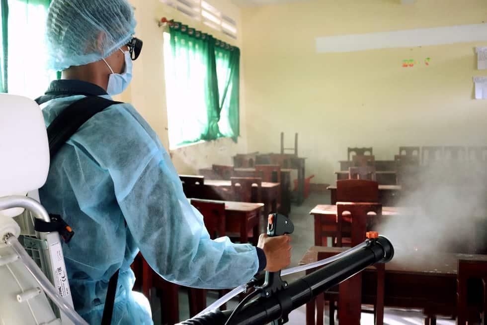 Dịch vụ phun thuốc khử trùng tại Đà Nẵng